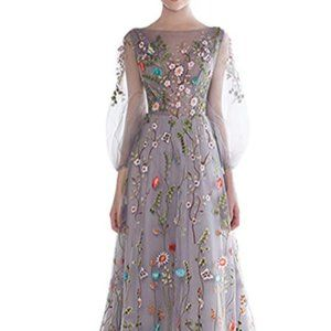 Women's Long Gown Dress Prom, Party, or Wedding